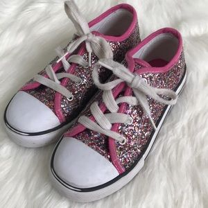 Other - Girls pink glitter tennis shoes